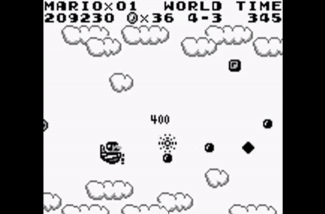 Super Mario Land Screen 1