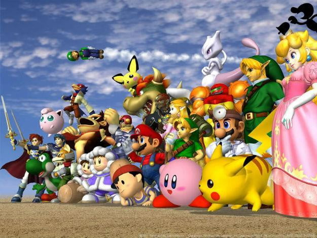super smash bros  for wii u and ds namco bandai