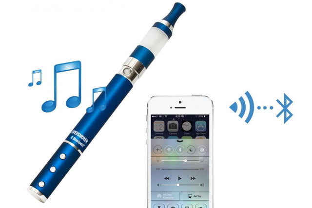 supersmoker bluetooth e cigarette lets users take calls play music