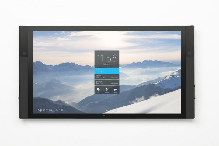 surface hub touch tv