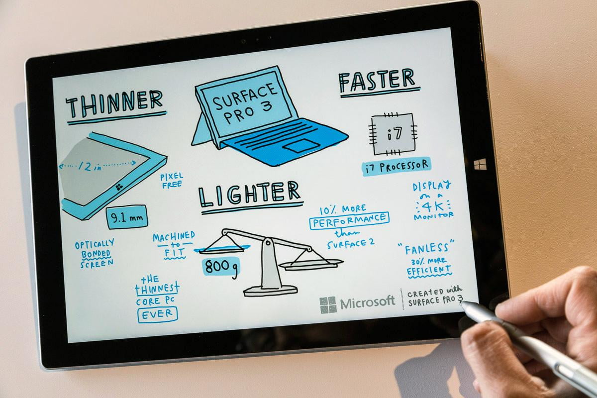 surface pro  vs inch macbook retina specs features prices compared stylus