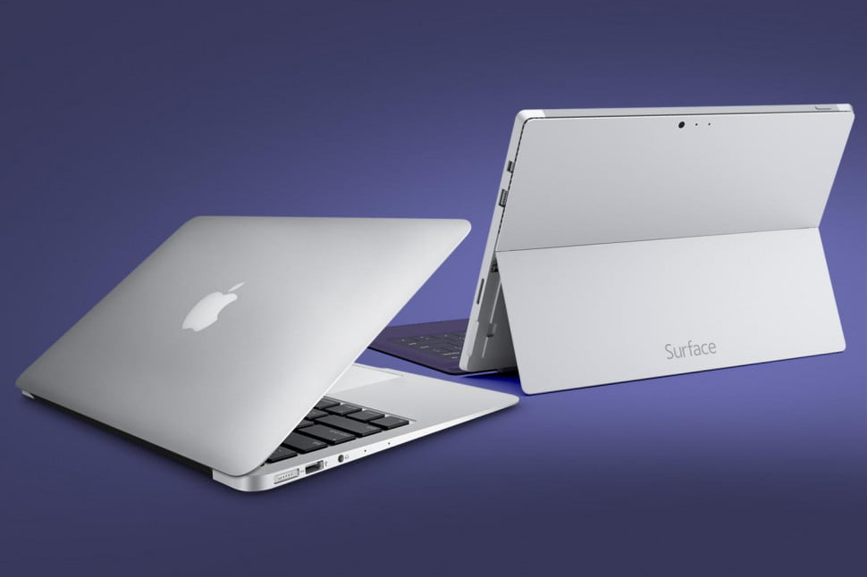 Surface Pro 3 vs. 13-Inch MacBook Air (2014) | Digital Trends