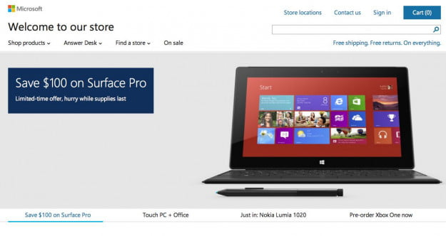 surface pro promotion