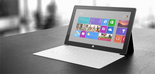 surface rt tablet microsoft
