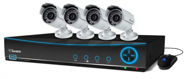 Swann 4-camera security DVR small