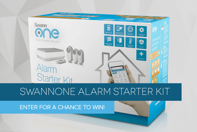 swannone alarm starter kit giveaway