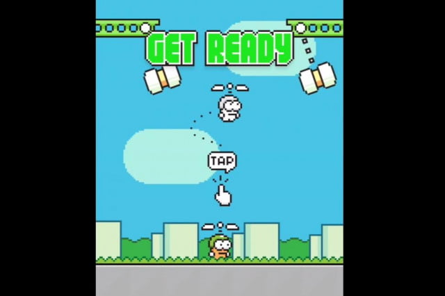 flappy bird creator to launch swing copters
