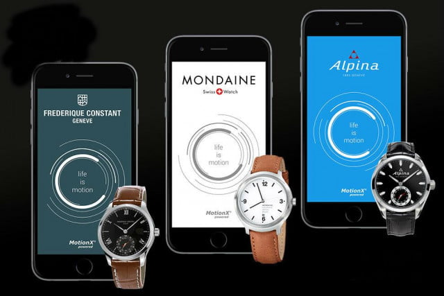swiss watchmakers motion x smartwatch smartwatches