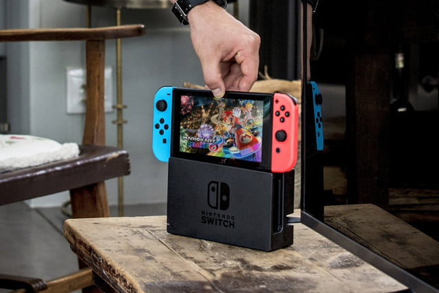 nintendo switch sells  million units at launch dock