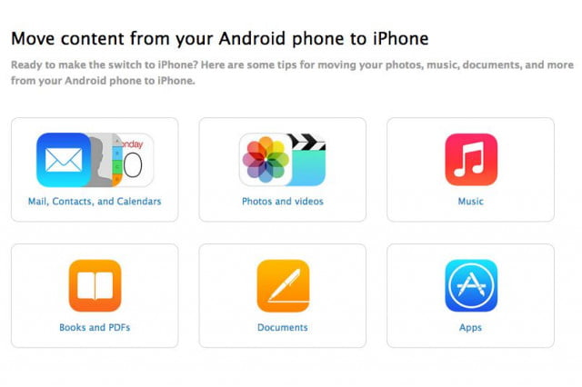 apple launches guide for android to iphone switching ios