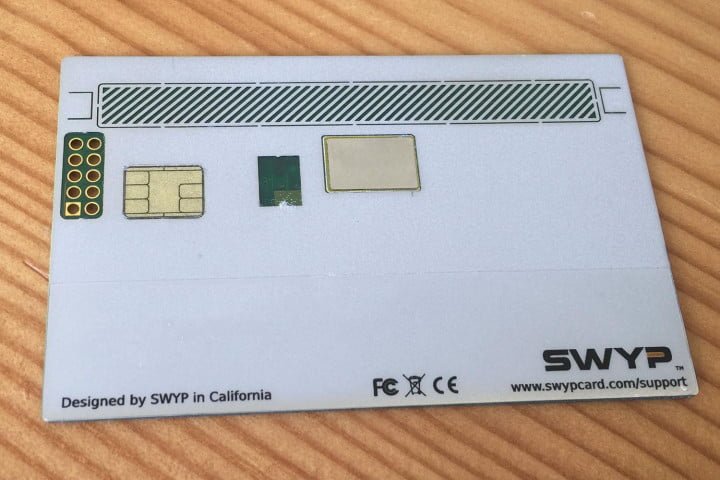 swyp will combine all your credit into one card
