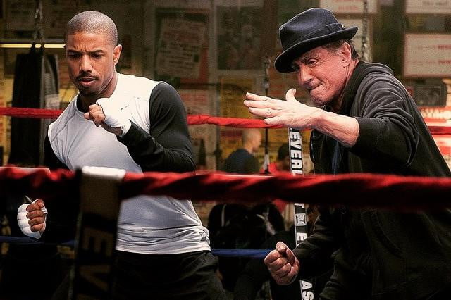 sylvester stallone rocky spinoff creed photo