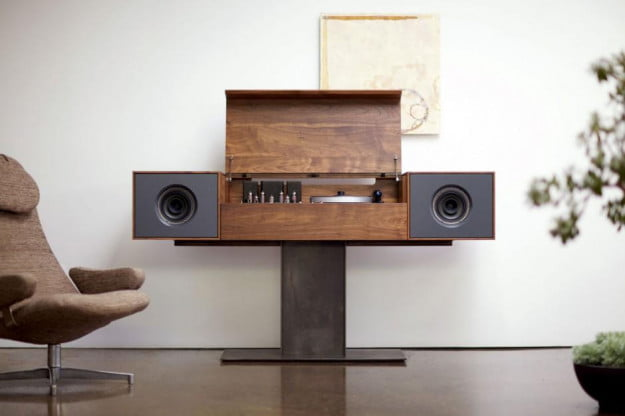Symbol Modern Record Console in black