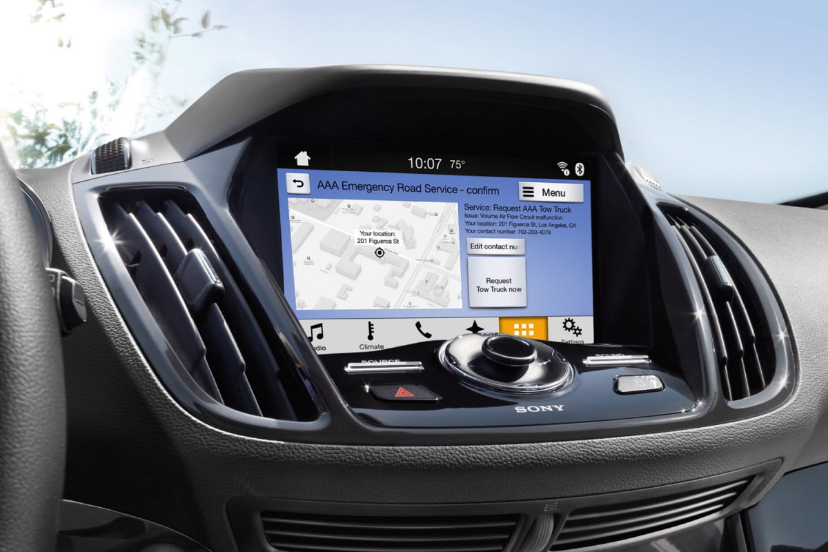 toyota will use ford smartdevicelink platform sync  aaa