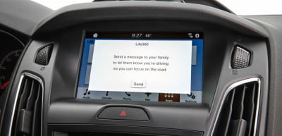 Ford Sync AppLink Life360 Drive Mode