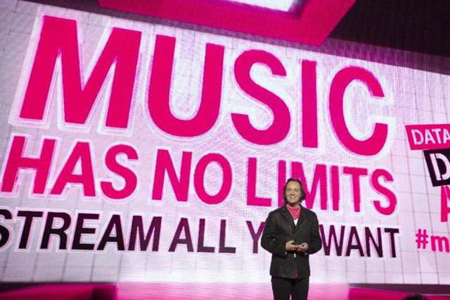 T-Mobile CEO John Legere introduces Music Freedom.