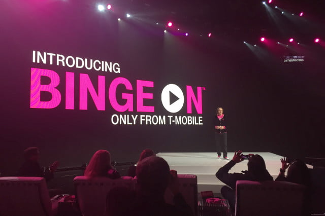 youtube clashes with t mobile binge on