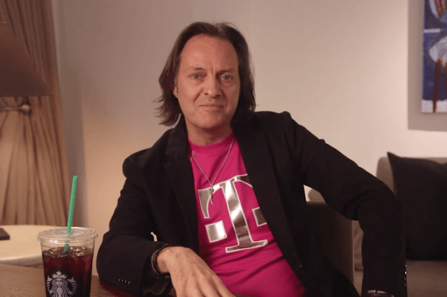 john legere hype train has left the station and is headed towards overage annihilation t mobile