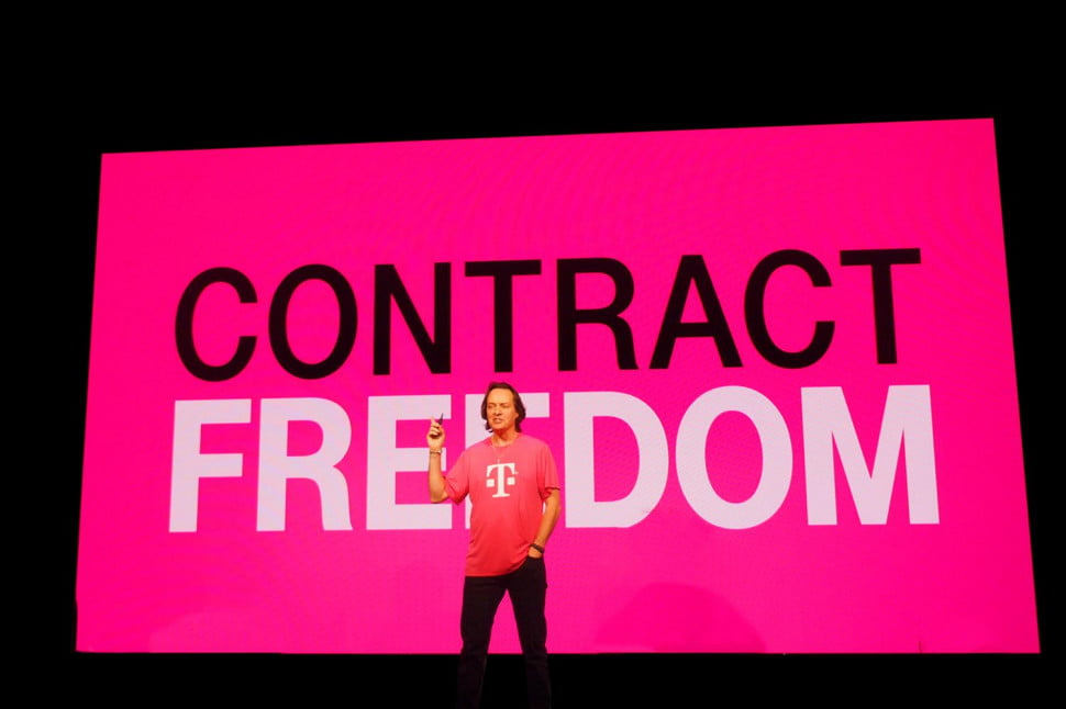 T-Mobile termination fee refund