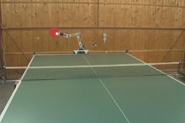 as table tennis champ preps for robot showdown hobbyist demos own ping pong bot