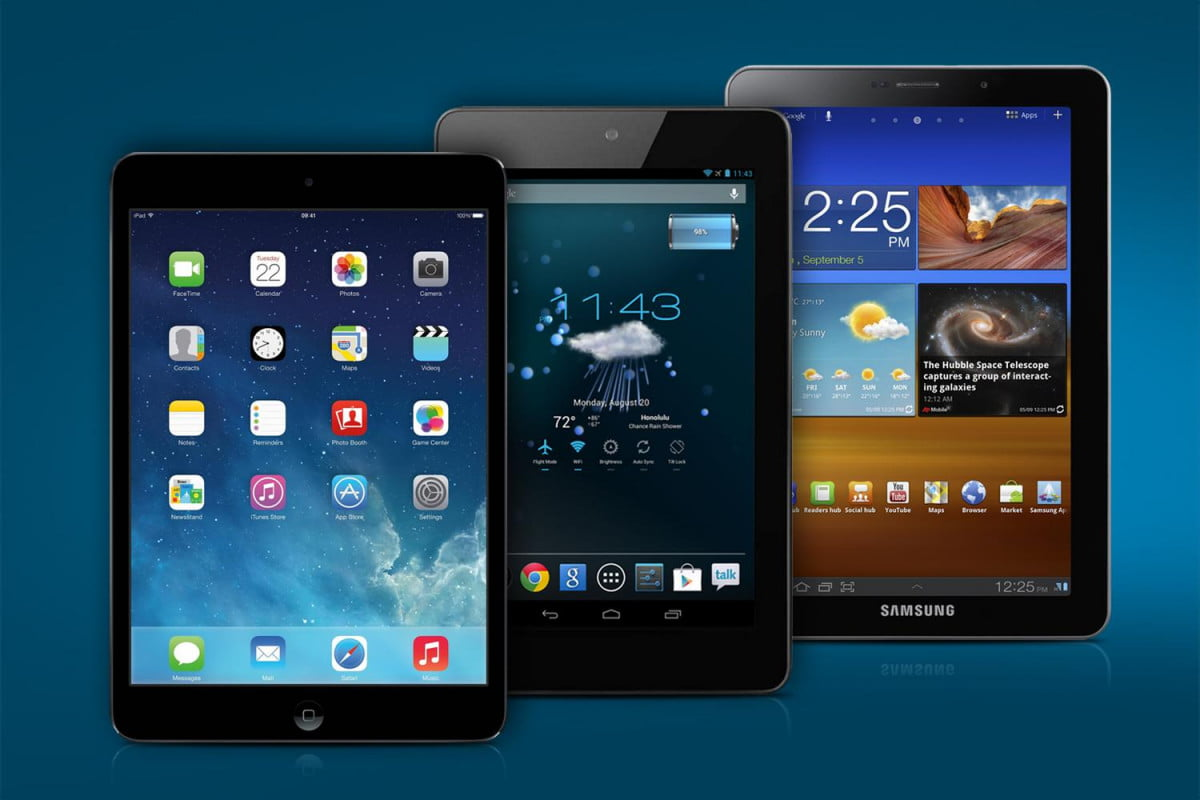 global tablet sales dip for first time