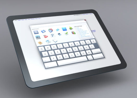 Google Chrome Tablet concept