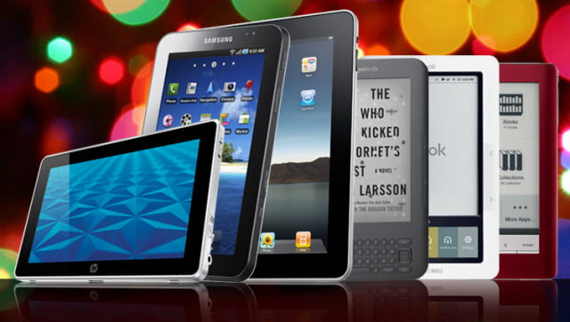 How to choose an e-reader or tablet for the holidays