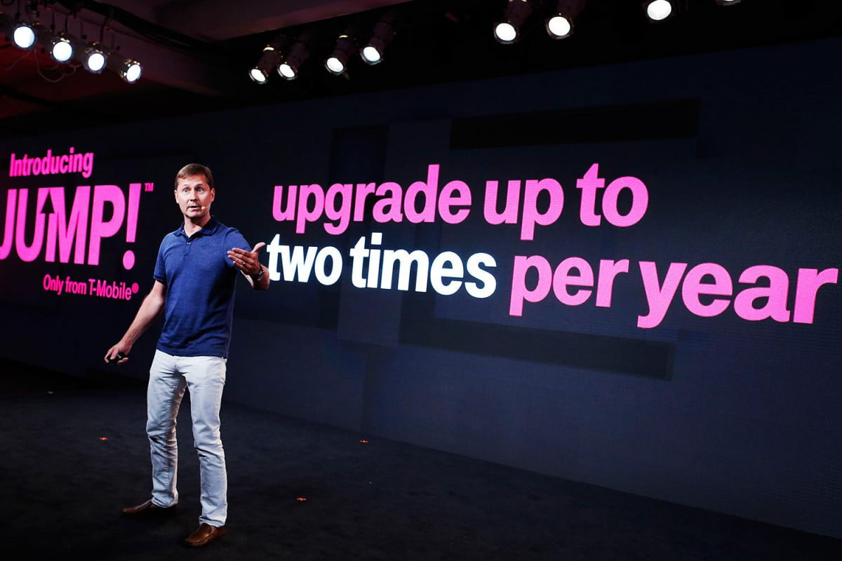 is t mobile really the uncarrier tablets un leashed mike sievert jump