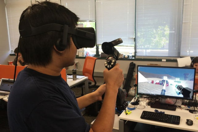 tactical haptics raises  million for vr tactile feedback controllers tachap