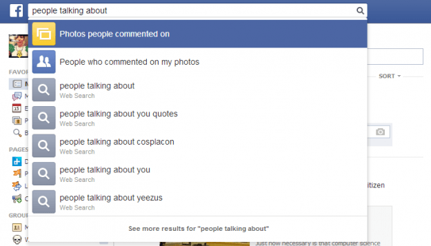 fb talking about
