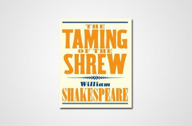 the emphasis of patriarchal marriage in taming of the shrew a play by william shakespeare In the works of william shakespeare and shakespeare's the taming of the shrew continues to a play-within-a-play, a male fantasy, as if even shakespeare.