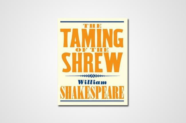 the emphasis of patriarchal marriage in taming of the shrew a play by william shakespeare The public, the private, and the shaming of  and private in the play since marriage was a social  william shakespeare, the taming of the shrew,.