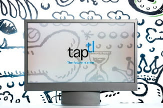 Taptl Transparent LCD Screen