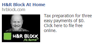 fb ads taxes