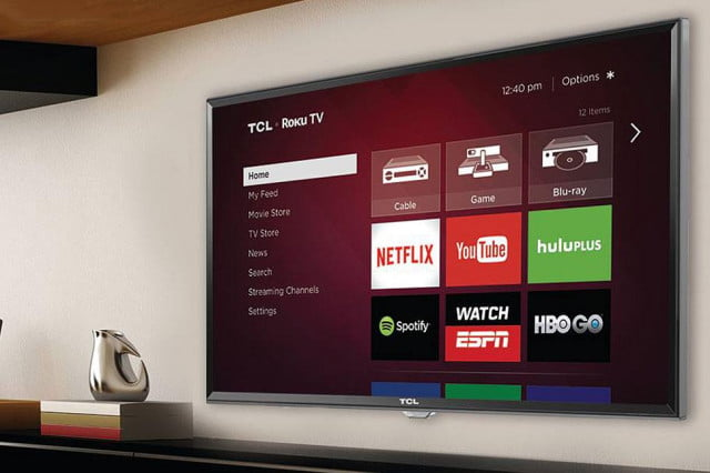 roku to step further out of the box will launch its first  k smart tv this spring tcl fs p led ( )