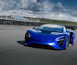 Techrules unveils its 1,030 hp turbine-electric supercar concepts in Geneva