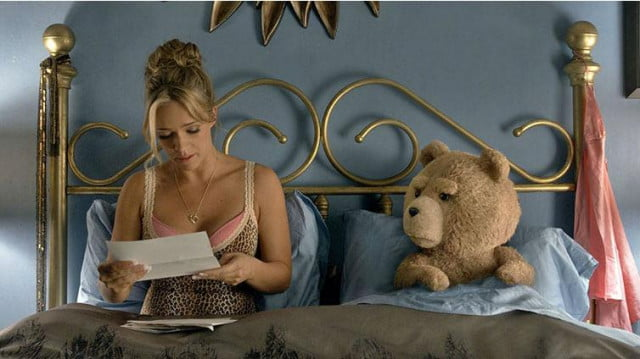 ted  entertainment weekly kim kardashian in bed