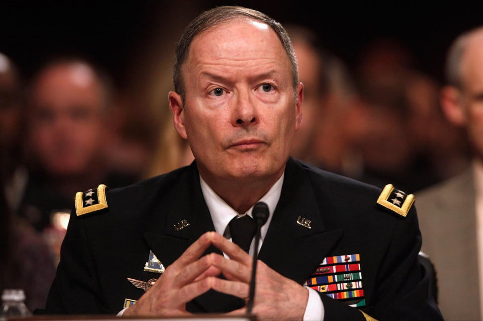 National Security Agency Director General Keith Alexander