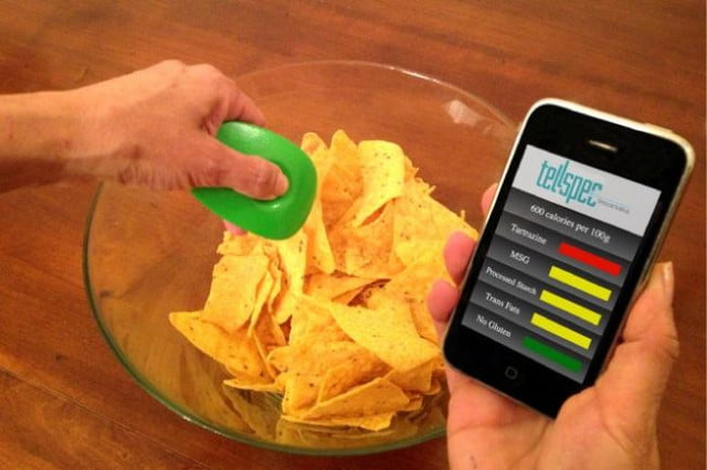 tellspec food scanner chips