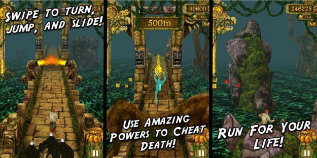 Temple Run for Android screenshots