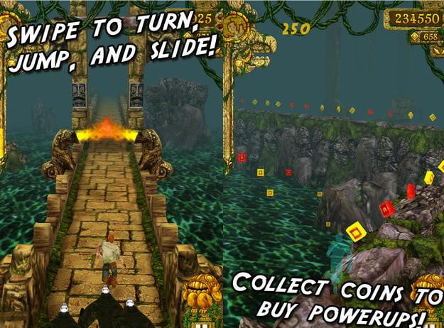 temple run free ipod touch ios game
