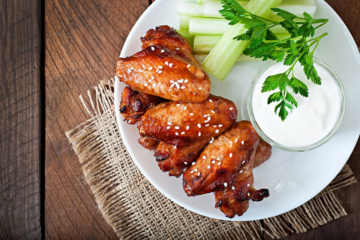 how to make chicken wings with science teriyaki