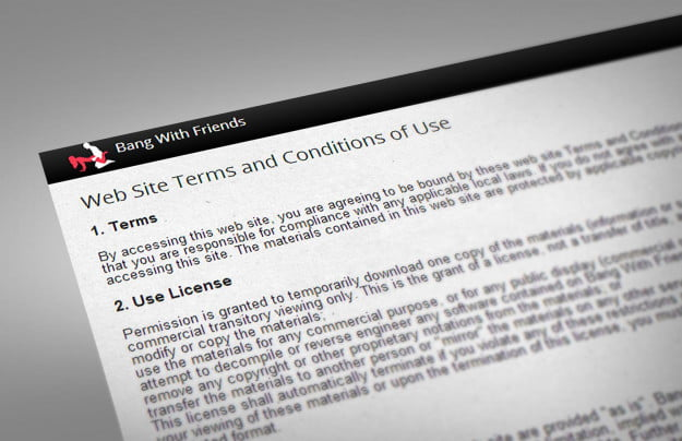 terms conditions bang with friends