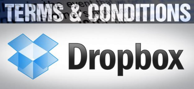 Terms & Conditions dropbox privacy policy
