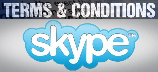 terms & conditions skype voip