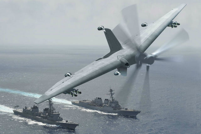 darpa developing drones capable of landing on small ships tern