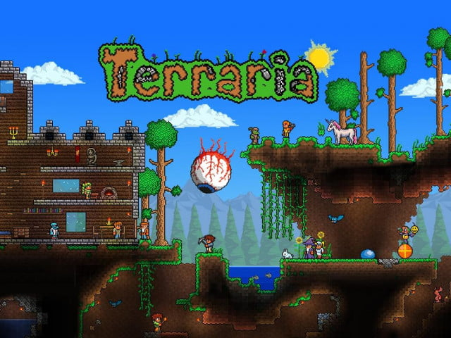 how to set up dedicated terraria server mp