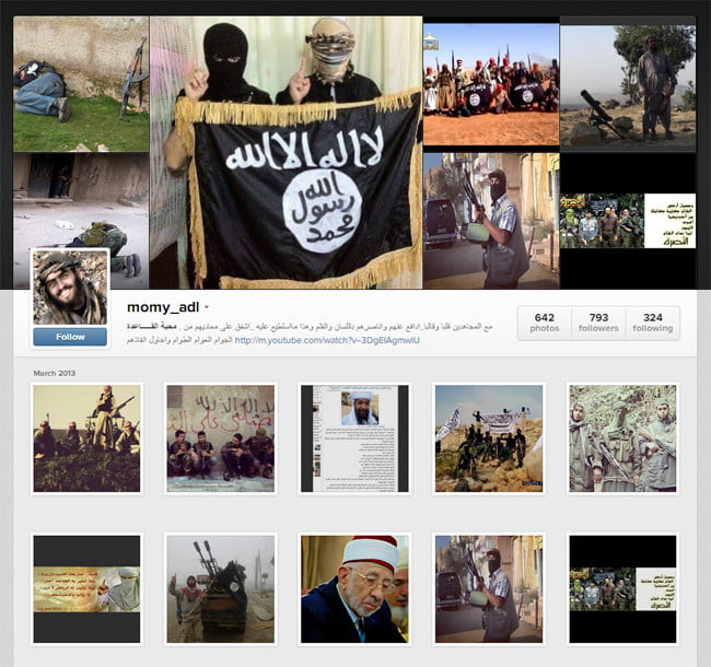 terrorist-instagram-account