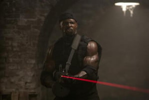 terry crews in Expendables