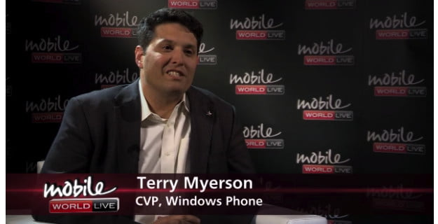 Terry Myerson MWC Live